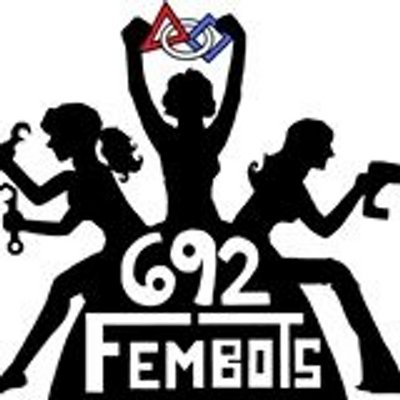 FRC FIRST Team 692: The Fembots logo